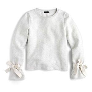 ✨ J. Crew Tie Sleeve Sweatshirt ✨
